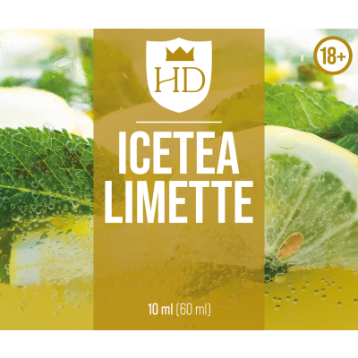 Hochland Dampf-Longfill-Ice Tee Limette